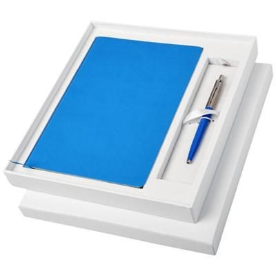 Picture of GIFT SET with A5 Note Book in Process Blue
