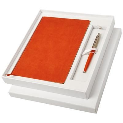 Picture of GIFT SET with A5 Note Book in Orange