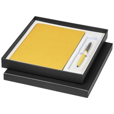 Picture of GIFT SET with A5 Note Book in Yellow