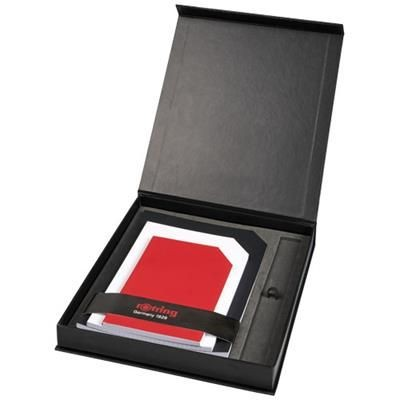Picture of NOTE BOOK GIFT SET in Black Solid