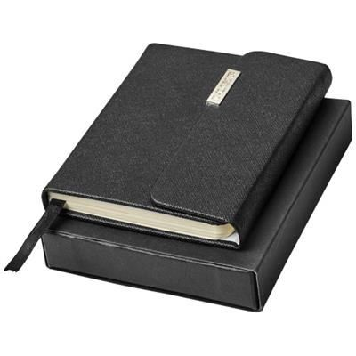 Picture of SONATA POCKET NOTE BOOK in Black Solid