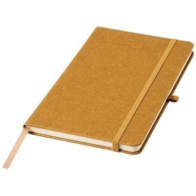 Picture of ATLANA LEATHER PIECES NOTE BOOK in Brown
