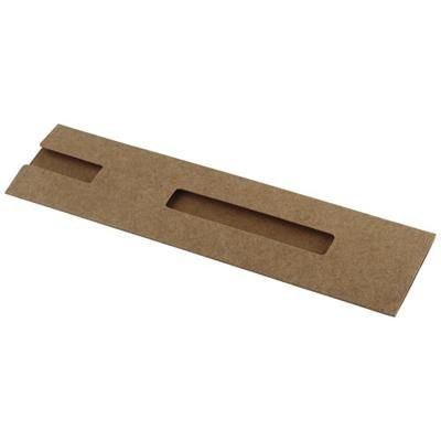 Picture of NADOR CARDBOARD CARD PEN SLEEVE in Natural