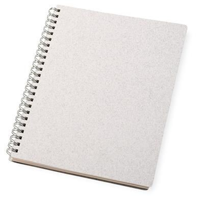 Picture of BIANCO A5 WIRE-O NOTEBOOK-WH in White Solid