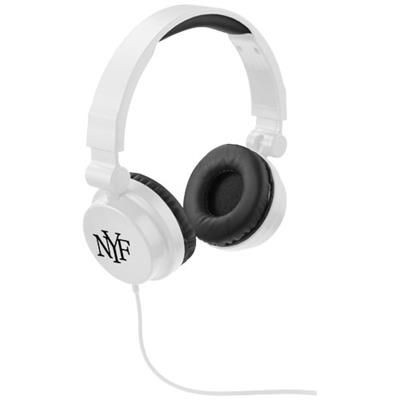 Picture of RALLY FOLDING HEADPHONES in White Solid