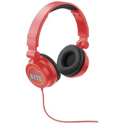 Picture of RALLY FOLDING HEADPHONES in Red