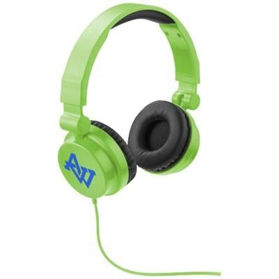 Picture of RALLY FOLDING HEADPHONES in Lime