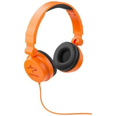 Picture of RALLY FOLDING HEADPHONES in Orange