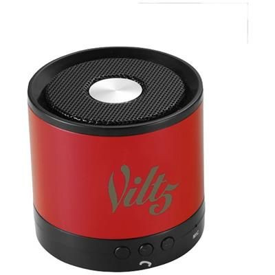 Picture of GREEDO BLUETOOTH® ALUMINIUM METAL SPEAKER in Red