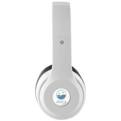 Picture of CADENCE FOLDING BLUETOOTH® HEADPHONES in White Solid