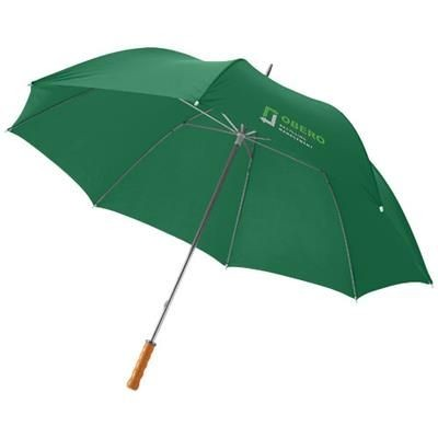 Picture of KARL 30 GOLF UMBRELLA with Wood Handle in Green