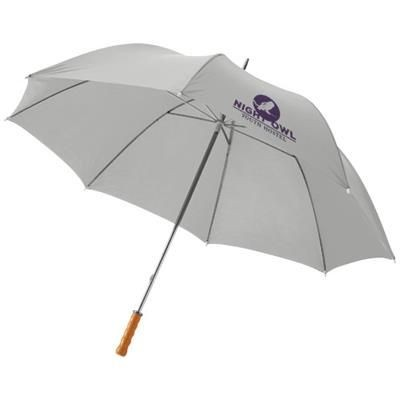 Picture of KARL 30 GOLF UMBRELLA with Wood Handle in Pale Grey