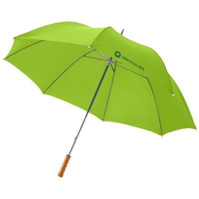Picture of KARL 30 GOLF UMBRELLA with Wood Handle in Lime