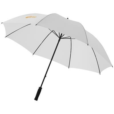 Picture of YFKE 30 GOLF UMBRELLA with Eva Handle in White Solid