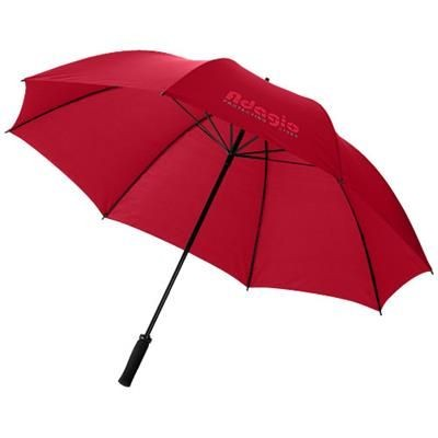 Picture of YFKE 30 GOLF UMBRELLA with Eva Handle in Red