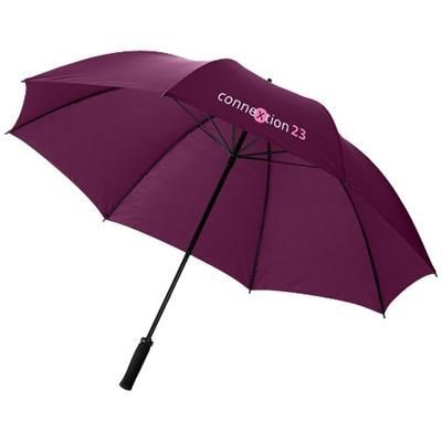 Picture of YFKE 30 GOLF UMBRELLA with Eva Handle in Burgundy