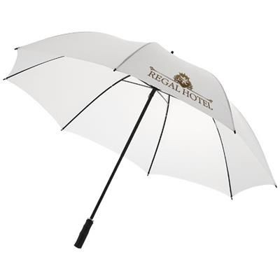 Picture of BARRY 23 AUTO OPEN UMBRELLA in White Solid