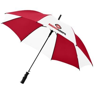 Picture of BARRY 23 AUTO OPEN UMBRELLA in Red-white Solid