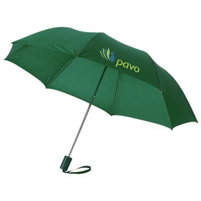 Picture of OHO 20 FOLDING UMBRELLA in Green