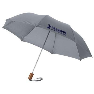 Picture of OHO 20 FOLDING UMBRELLA in Grey