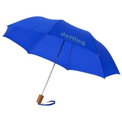 Picture of OHO 20 FOLDING UMBRELLA in Royal Blue