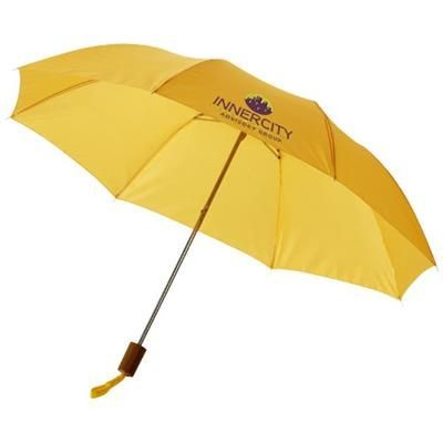 Picture of OHO 20 FOLDING UMBRELLA in Yellow