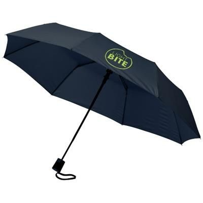 Picture of WALI 21 FOLDING AUTO OPEN UMBRELLA in Navy