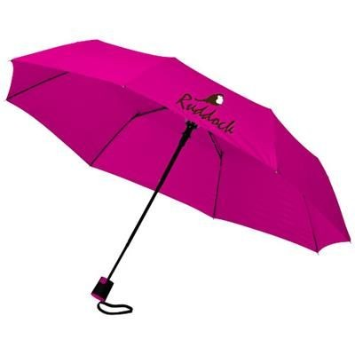 Picture of WALI 21 FOLDING AUTO OPEN UMBRELLA in Magenta