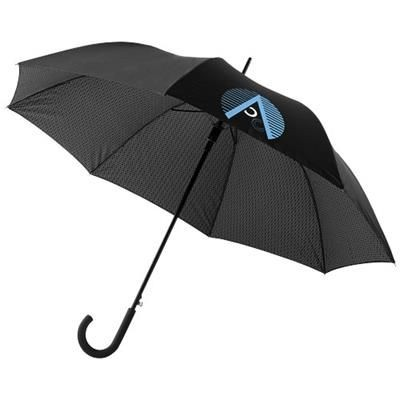 Picture of CARDEW 27 DOUBLE-LAYERED AUTO OPEN UMBRELLA in Black Solid