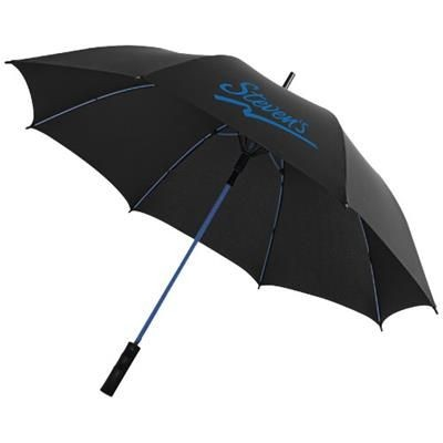 Picture of STARK 23 WINDPROOF AUTO OPEN UMBRELLA in Black Solid-blue