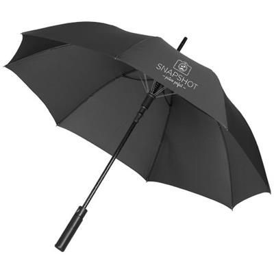 Picture of RIVERSIDE 23 AUTO OPEN WINDPROOF UMBRELLA in Black Solid