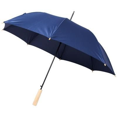 Picture of ALINA 23 AUTO OPEN RECYCLED PET UMBRELLA in Navy