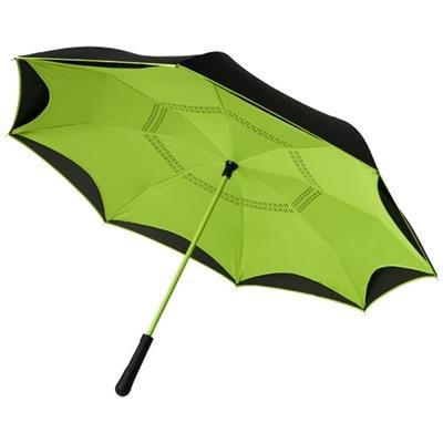 Picture of YOON 23 INVERSION COLOURIZED STRAIGHT UMBRELLA in Lime