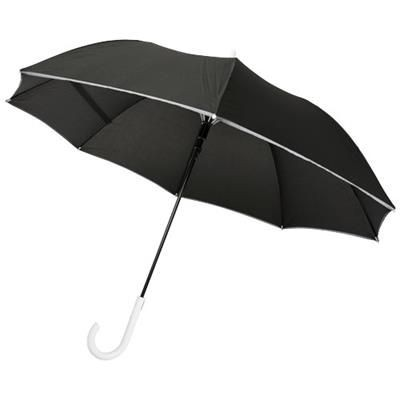 Picture of FELICE 23 AUTO OPEN WINDPROOF REFLECTIVE UMBRELLA in White Solid