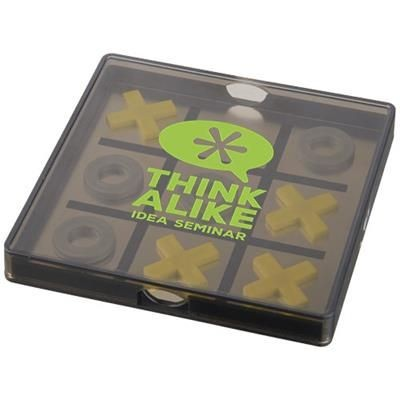 Picture of WINNIT MAGNETIC TIC TAC TOE GAME in Black Solid-transparent