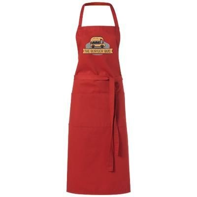 Picture of VIERA APRON with 2 Pockets in Red