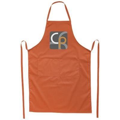 Picture of VIERA APRON with 2 Pockets in Orange