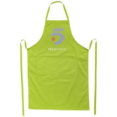 Picture of VIERA APRON with 2 Pockets in Lime