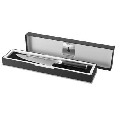 Picture of FINESSE CHEF KNIFE in Black Solid-silver
