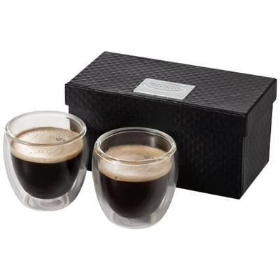 Picture of BODA 2-PIECE GLASS ESPRESSO CUP SET in Clear Transparent