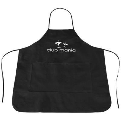 Picture of COCINA APRON in Black Solid