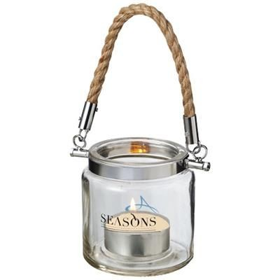 Picture of SOLANO LANTERN in Transparent Clear Transparent