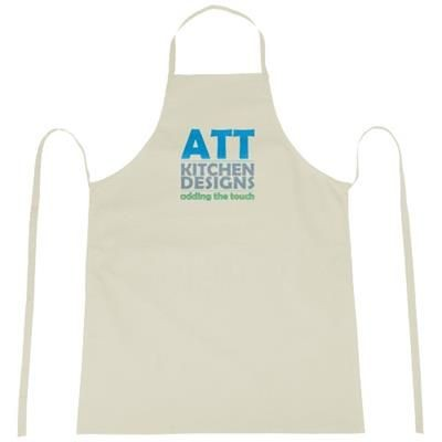 Picture of REEVA 100% COTTON APRON with Tie-back Closure in Khaki