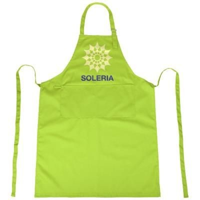 Picture of ZORA APRON with Adjustable Lanyard in Lime