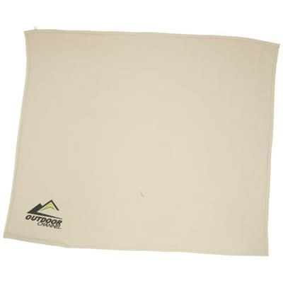Picture of SPRINGWOOD SOFT FLEECE AND SHERPA PLAID PICNIC BLANKET in Off-white