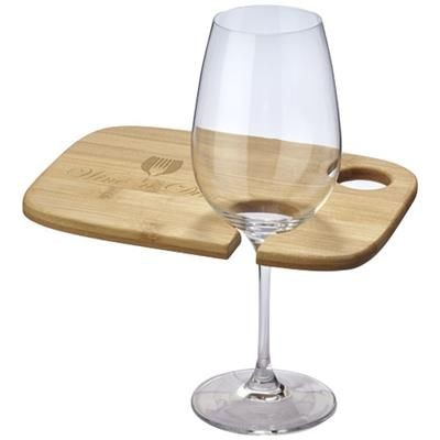 Picture of MILLER WINE AND DINE APPETIZER PLATE in Wood