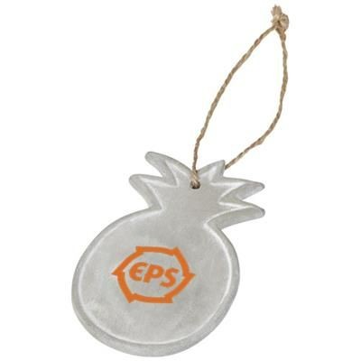 Picture of SEASONAL PINEAPPLE ORNAMENT in Grey