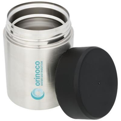 Picture of DANTE VACCUUM COPPER THERMAL INSULATED FOOD CONTAINER in Silver