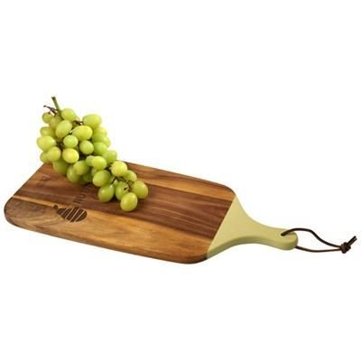 Picture of DERBY ANTIPASTI SERVING BOARD in Wood-light Yellow