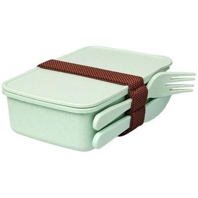 Picture of BAMBERG BAMBOO FIBRE LUNCH BOX in Mints